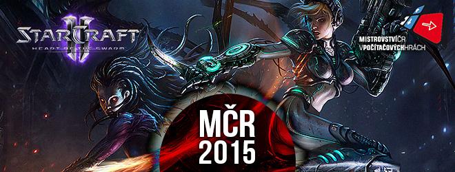 StarCraft 2 MČR - banner