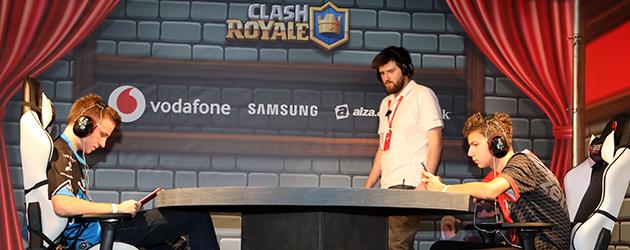 Clash Royale zápas