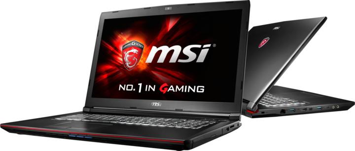 MSI notebooky GP72
