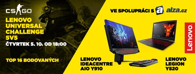 Lenovo Universal Challenge #1 - 5v5