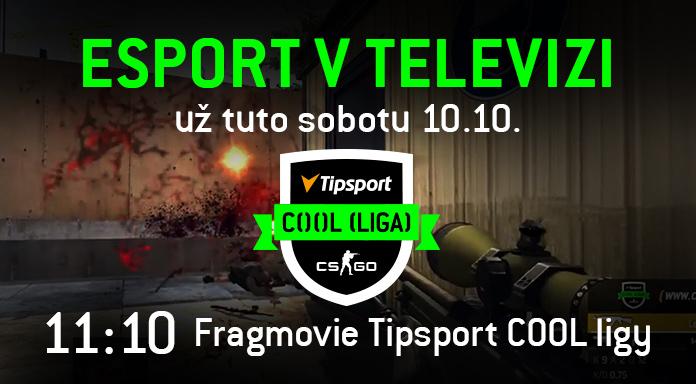 V sobotu dopoledne vám v televizi přineseme ty nejlepší fragy play-off Tipsport COOL ...