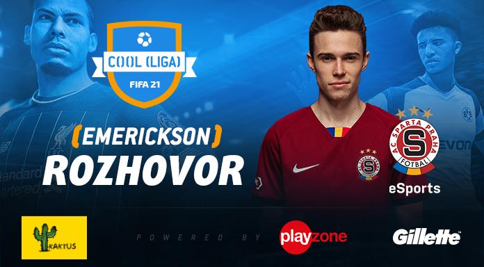 Emerickson: Chci získat český rekord! Výhra v baráži pro mě znamenala úlevu