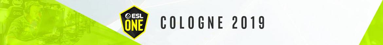 ESL One Cologne 2019 - banner