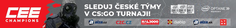 CEE Champions hlavní turnaj - banner