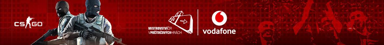 Vodafone Mistrovství České republiky 2020 - banner