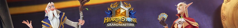 Hearthstone Grandmasters – jaro 2021 - banner