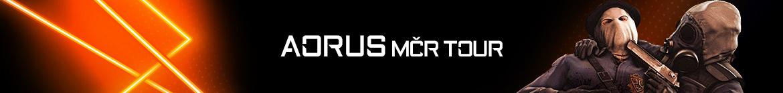 AORUS MČR Tour - banner